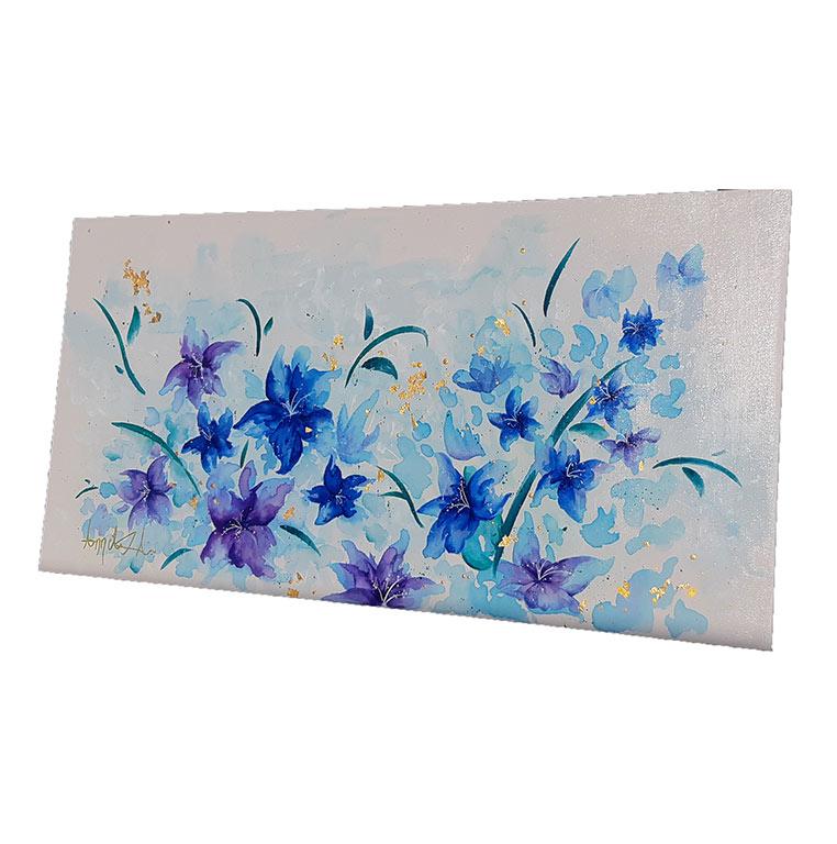 Bouquet du ciel d'azur-Annciella Alarie Artiste