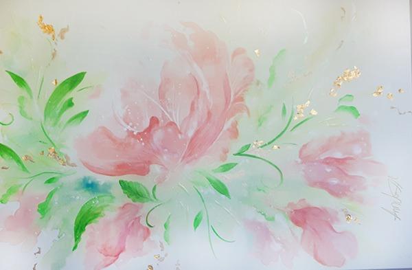 Le temps d'une fleur-Annciella Alarie Artiste